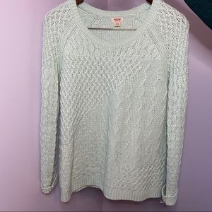 Mossimo mint green sweater